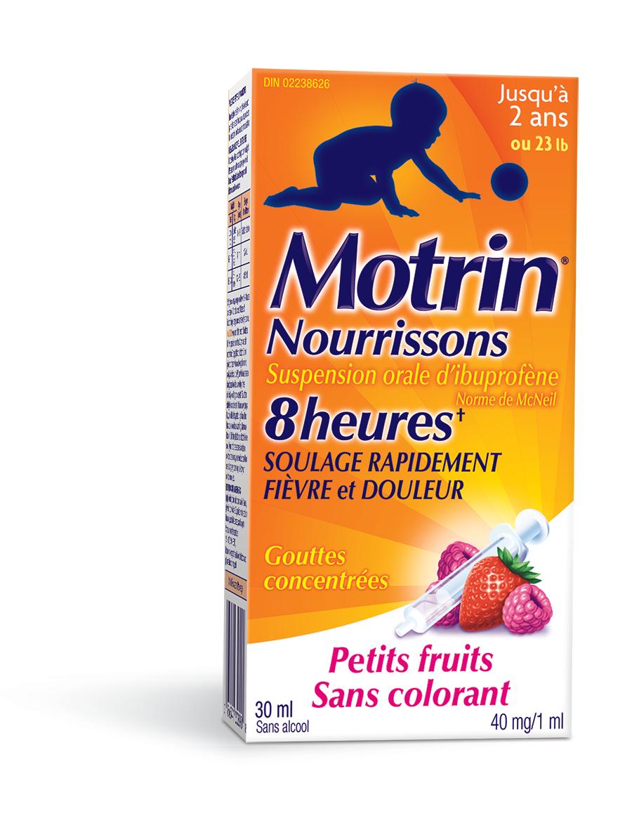 Infants' MOTRIN® Suspension Drops