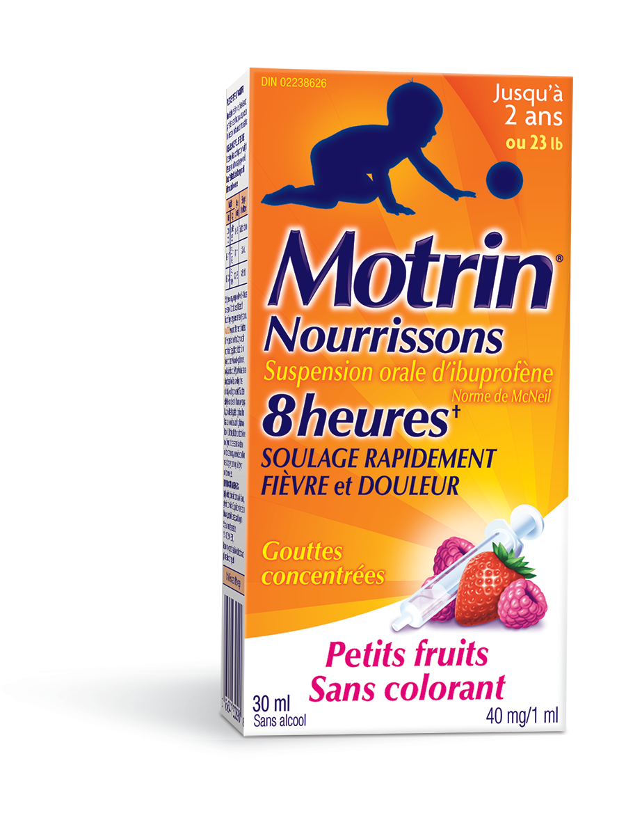 Infants' MOTRIN® Suspension Drops