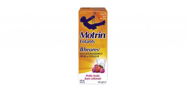 Suspension MOTRIN® pour enfants