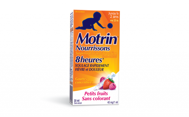 Gouttes de suspension MOTRIN® pour nourrissons