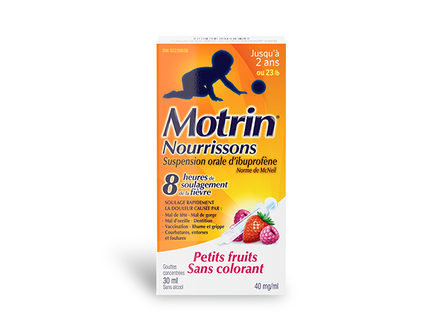 Produit MOTRIN® pour nourrissons